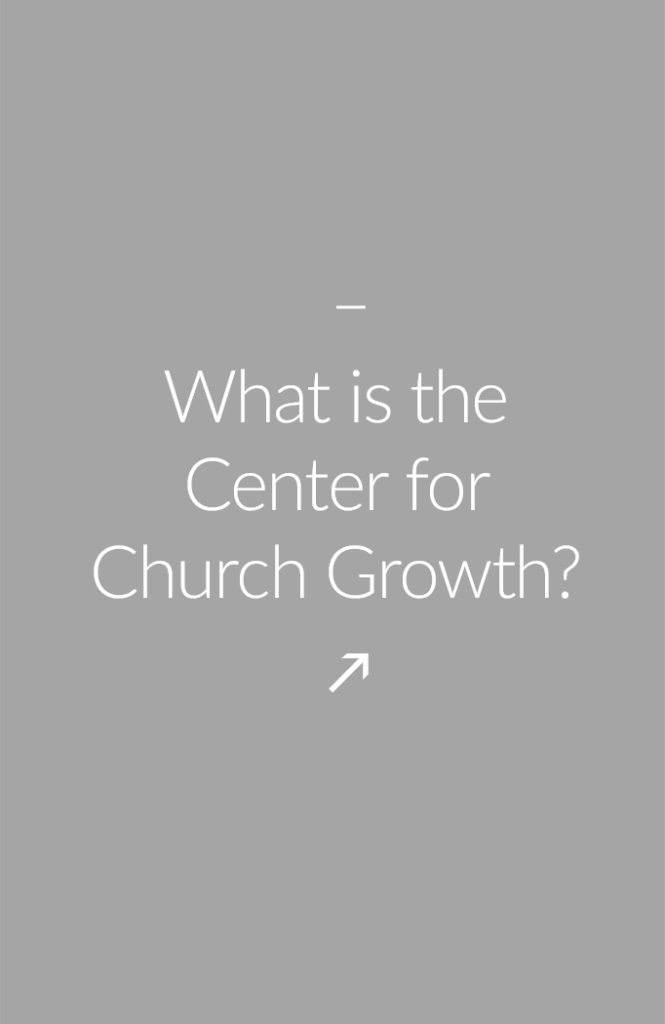 What is the Center for  Church Growth? We offer a wide variety of Church Growth and leadership development seminars/workshop for Pastors and church leaders with a special emphasis in African American Church Growth.